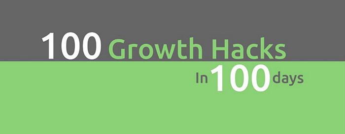 100 Growth Hacks in 100 Days: 1 to 10